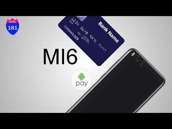 Есть ли в серии Xiaomi Mi 6 android pay