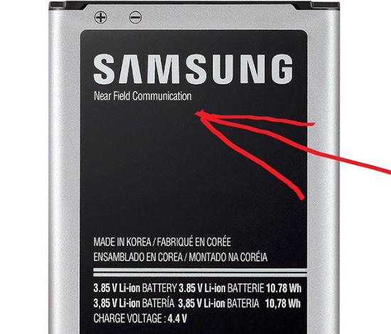 NFC на смартфонах Samsung