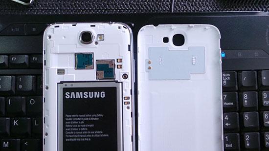 Где в телефонах Самсунг NFC антенна?