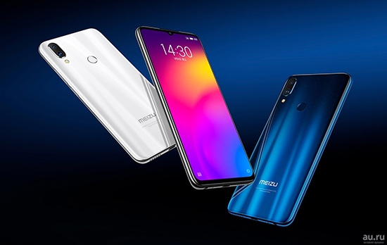 Есть ли NFC модуль на телефоне Meizu Note 8
