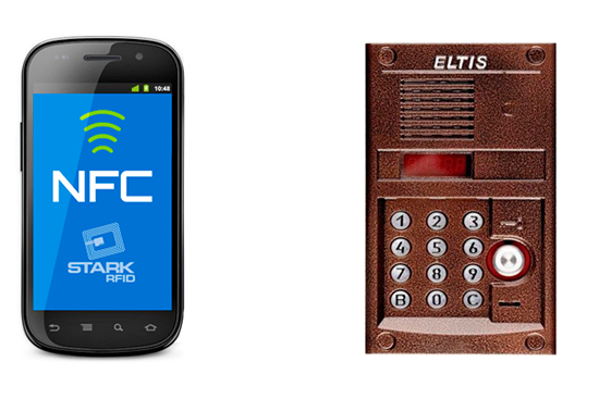Как открыть домофон с помощью NFC на телефоне