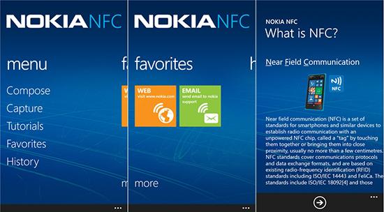 Использование NFC на смартфоне Nokia