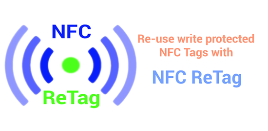 Что собой представляет NFC ReTag для смартфона