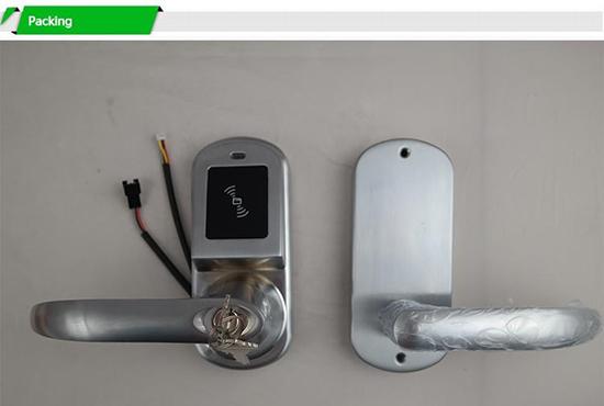 Как пользоваться NFC замком на входную дверь